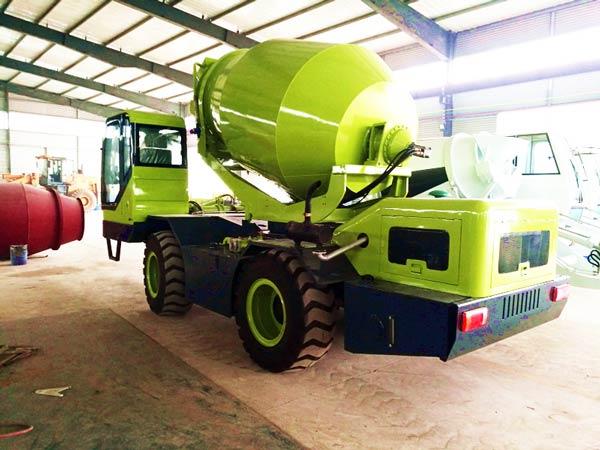 self load mixer truck