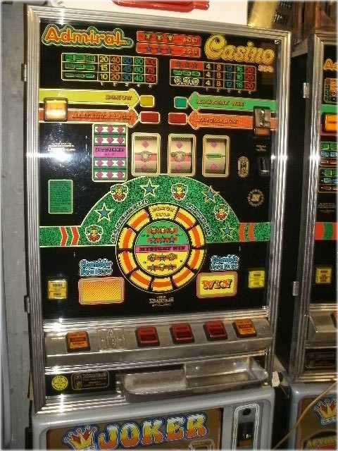 Ein echter alter Automat aus vergangener Zeit