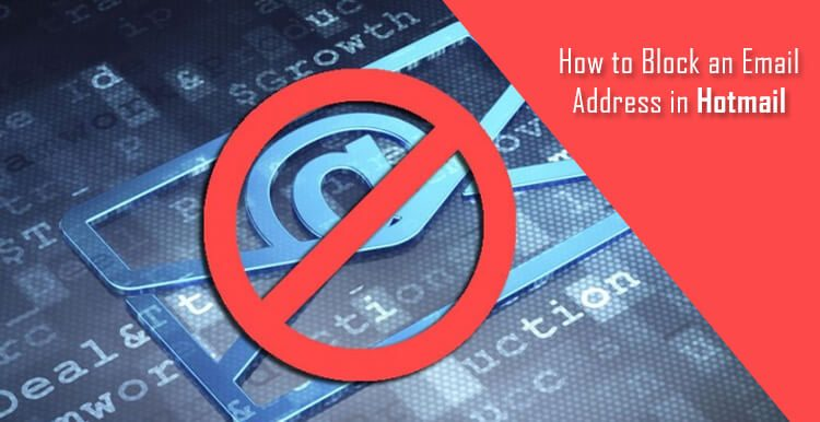 Block an Email Address in Hotmail
