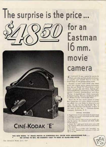 Cinekodak Camera