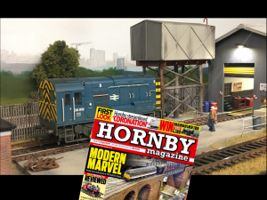Hornby Magazine April 2018 - featured Old Oak Bridge Old Oak Bridge makes a featured article in the April 2018 edition of the Hornby magazine. It's very exciting times for the layout and a personal journey for myself having being selected to show a small diorama of my creation of which is every modellers dream. A Class08 ticks over at the depot on Garry Payne's 'OO' gauge layout Old Oak Bridge. The model takes inspiration from Old Oak Common and Acton depots through the BR era to 2001.