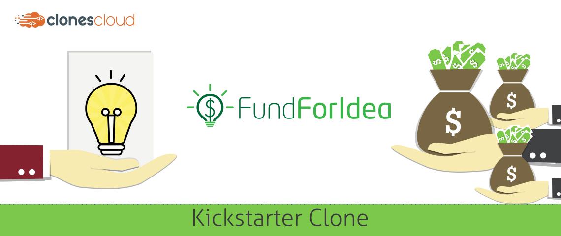 kickstarter clone script banner