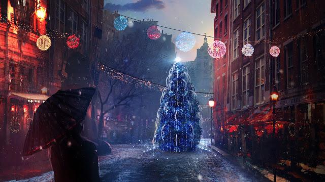 christmas eve lights