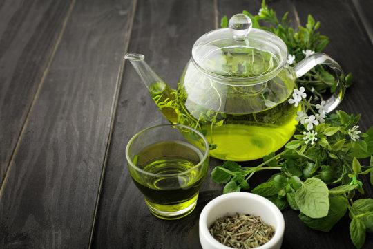 organic green tea India