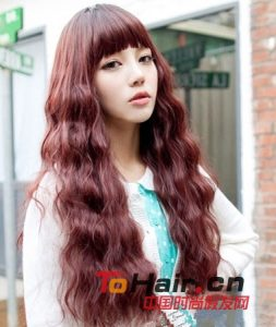 long curly hair wig